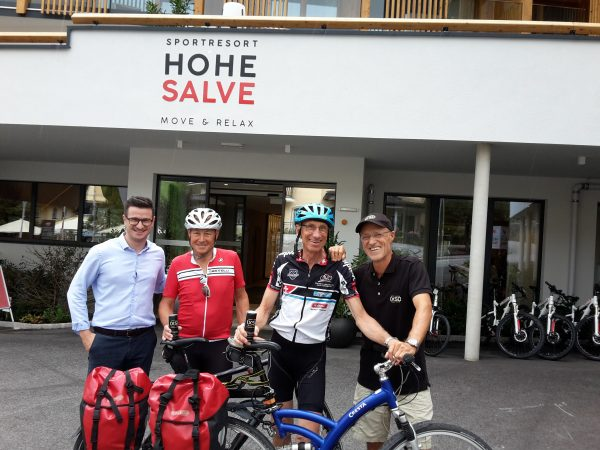 Skiflug-Legende Walter Steiner landet im Sportresort HOHE SALVE