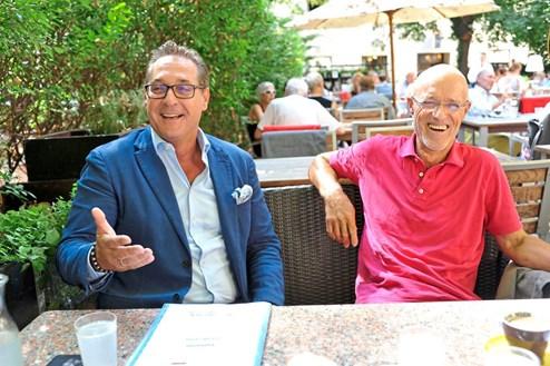 Das Sommergespräch mit Sportminister Heinz-Christian Strache