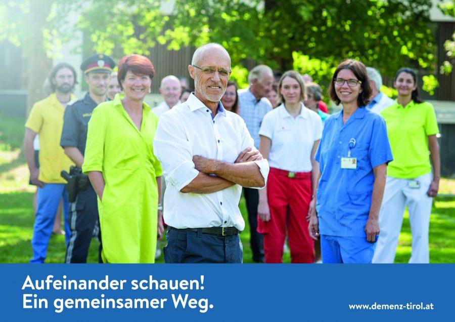 """""""Aufeinander schauen"""" – Demenz-Kampagne Tirol"""