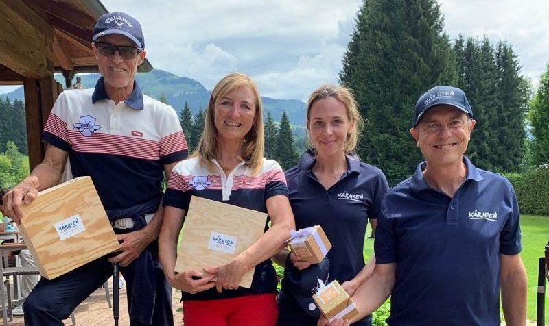 Golf RyderCup Tirol gegen Kärnten