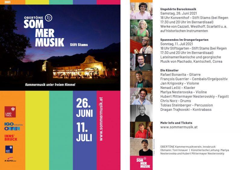 Sommermusik der Obertöne